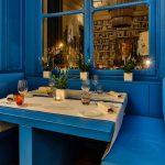 allestimento blue